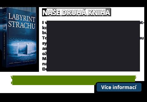 Kniha Labyrint strachu
